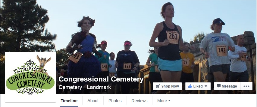 Congressional Cemetery Facebook page front page_Oct 3 2015_2