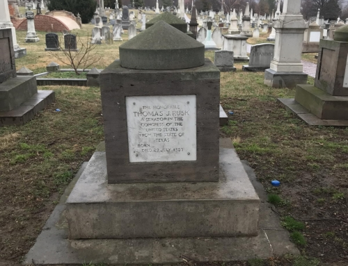 Tragic Tales at Congressional Cemetery: Suicides